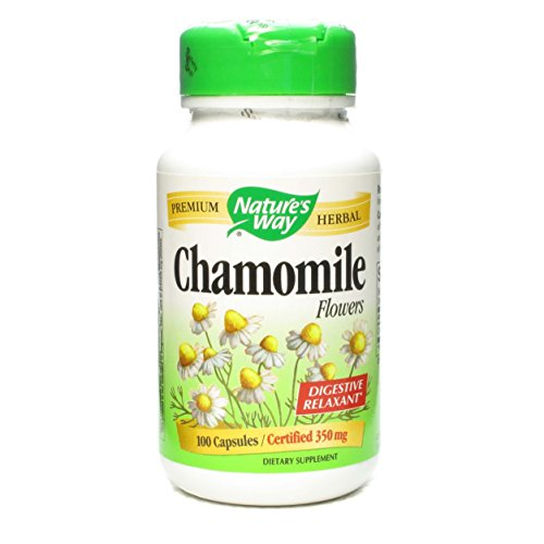 Natures Way Chamomile Flowers Capsules