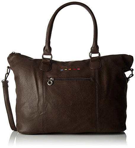 Little Marcel Damen Id02 Tote, 17x25x47 cm Braun (Brown)