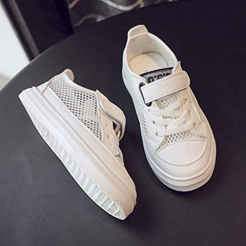 TIANRUN Boys Girls Sneakers Lightweight Breathable Running Walking Athletic Tennis Shoes