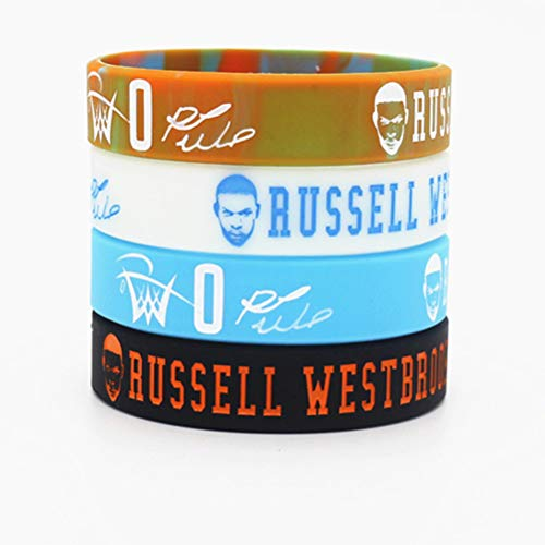 Tentop Silicone Bracelet for Sports Fans - 4PCS Assorted Color- Gift idea for Your Beloved Ones (QZ13)