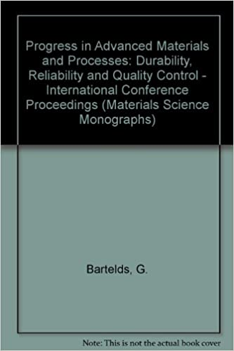 Descargar libros electrónicos gratis koboProgress in Advanced Materials and Processes: Durability, Reliability and Quality Control - International Conference Proceedings (Materials Science Monographs) (Spanish Edition) PDF PDB CHM 0444424997