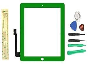 Verde iPad 33rd generación digitalizador de pantalla táctil de repuesto Panel de cristal