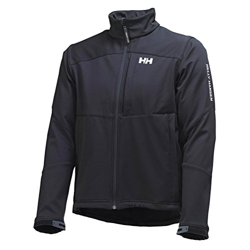 Helly Hansen Men's Paramount Soft Shell Jacket, Black, Large
