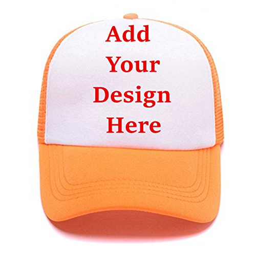 Personalized Snapback Trucker Hats Custom Unisex Mesh Outdoors Baseball Caps ()