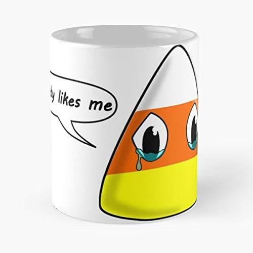 Candy Corn Sweet Halloween - Coffee Mug And Tea Cup Gift 11 Oz Best Mugs For Choose