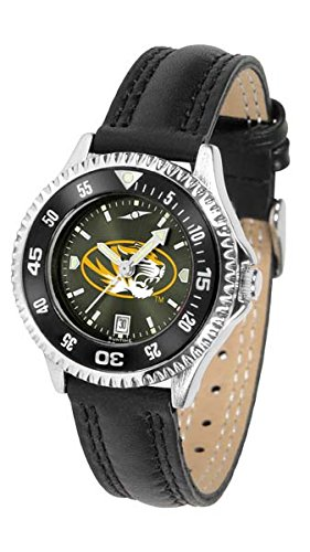 Missouri Tigers Competitor AnoChrome Women's Watch - Color Bezel