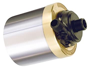 Little Giant 517006 Stainless Steel 580GPH Pump with 20-Feet Cord Bronze