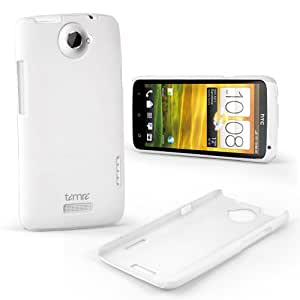 White Genuine Timri® Tough Case Cover for HTC ONEX One X