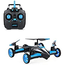 gordve coches Quadcopter Car Control remoto Car y RC Quadcopter control remoto Drone voladores vehicles-blue