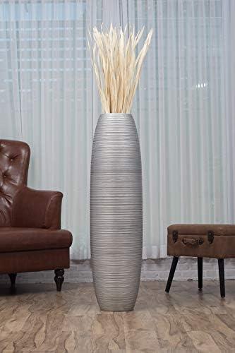 Vase Moderne pour la Maison D/écor Salon Bureau Cuisine Table Ornement Generic Brands Vases en c/éramique Blanche