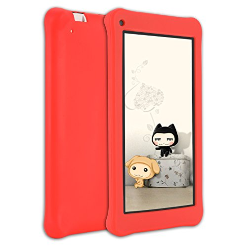 AOSON M753-S1 7 Inch kids Tablet PC, Android 7.1 Nougat Quad-core Processor, IPS HD Touch Screen, 1GB RAM 16GB Storage, Kids APPS Iwawa Kidoz Dual Camera Bluetooth Wi-Fi Supported, GMS Certificated by Aoson (Image #2)