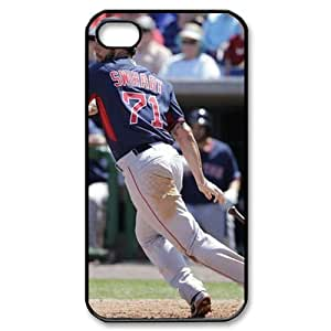 MLB iPhone 4,4S White Boston Red Sox cell phone cases&Gift Holiday&Christmas Gifts NADL7B8824643