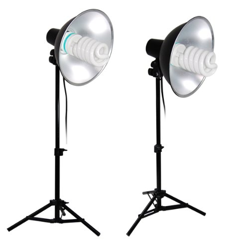 Limo Studio Photography Table Top, Mini Studio Continuous Bowl Reflector Lighting Kit, AGG1013 by LimoStudio