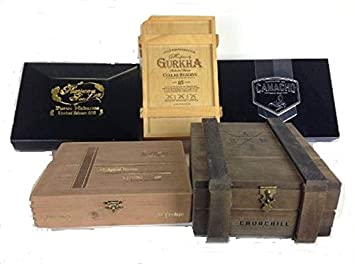 Amazon.com: Prima aspiradora De Madera Cajas de cigarrillos ...