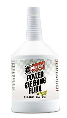 Red Line 30404 Power Steering Fluid - 1 Quart (Pack of 6) by Red Line Oil