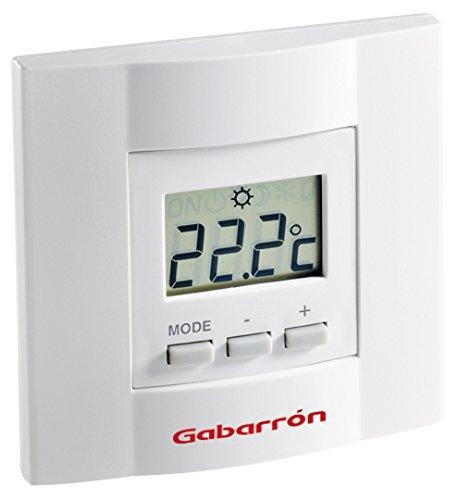 Gabarrón TA4D Termostato electrónico, Blanco: Amazon.es: Hogar