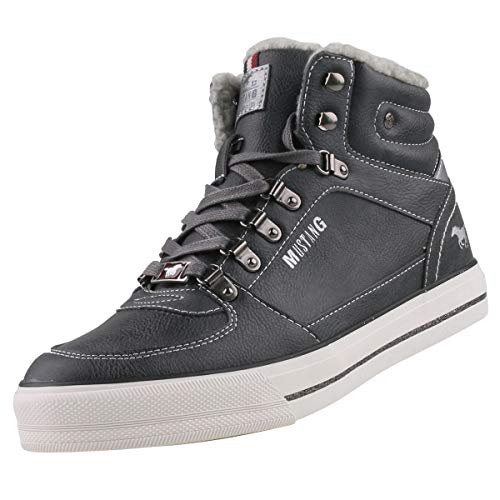 Hautes Mustang Sneaker High Baskets Femme Top qw8aFwxPz