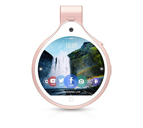 FrontRow FR_RG Wearable Lifestyle Camera, Rose gold
