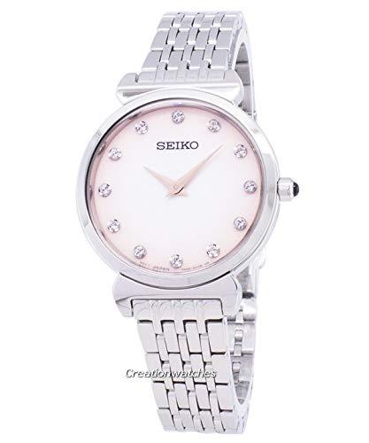 Seiko Quartz Diamond Accents Women's Watch SFQ803P1