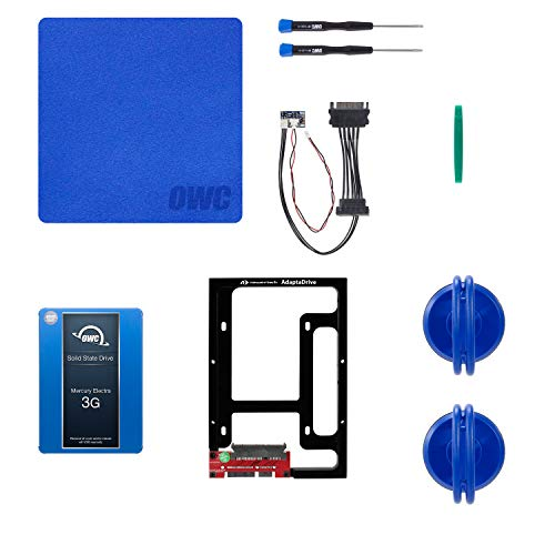 OWC 250GB 3G SSD and HDD DIY Complete Bundle Upgrade Kit for Late 2009-2010 iMacs, ( OWCKITIM09HE250)