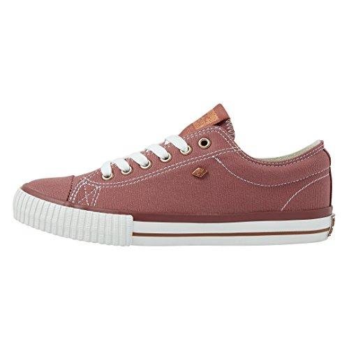 Lo Master Top British Knights Sneaker Marsala Low Rosegold Damen wSEw46xUnq