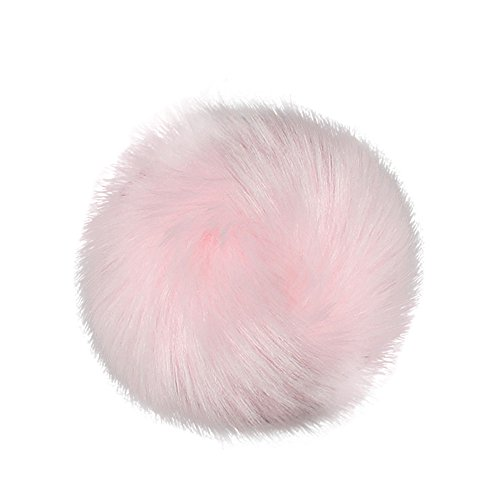 Faux Fox Fur Fluffy Pompom Ball for Hats Beanies Shoes Scarves Bag DIY Accessories