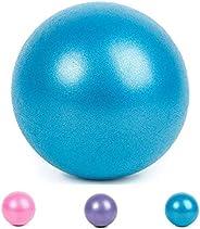 Mini Pilates Yoga Ball 25cm/9 Inch Exercise Ball Anti-Slip Fitness Training Ball for Core Training, Physical T