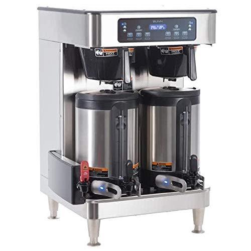 Bunn 51200.0103 ICB Infusion WiFi Capable Twin Coffee Brewer 120/240V, 6000W