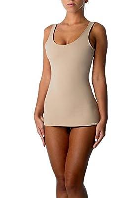 Cover Girl Shapewear 4-Way Reversible Tummy Control Tank Top Seamless Slimming Shaping Tanks