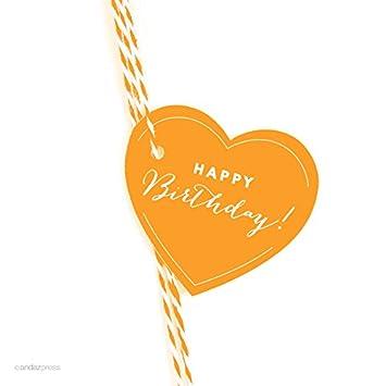 amazon com andaz press heart gift tags chic style happy birthday