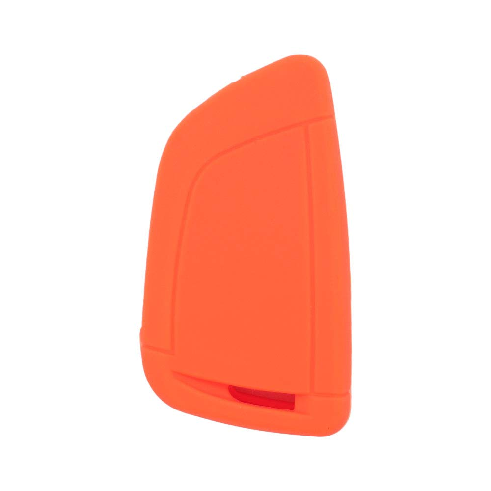 SEGADEN Silicone Cover Protector Case Skin Jacket fit for BMW X1 X3 X4 X5 X6 4 Button Smart Remote Key Fob CV4907 Rose