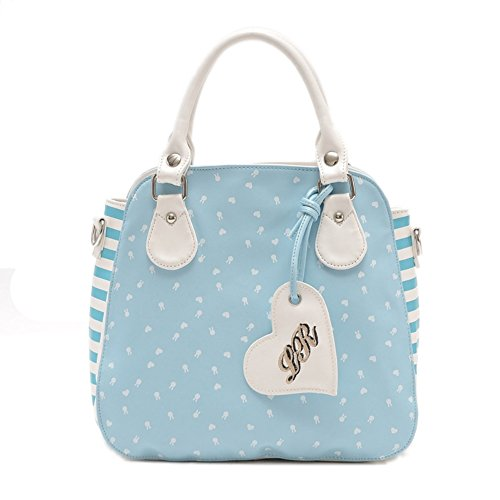 Hifish Hb125118c3 Pu Leather Sweet Lady Women's Handbag Vertical Section Square Kitten Package