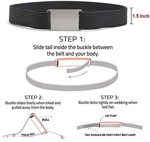 Kipove Luxury Men Canvas Military Tactical for Mens Cinturon Hombre 1.5 Adjustable Nylon Webbing Waist Belt 100 to 160 cm