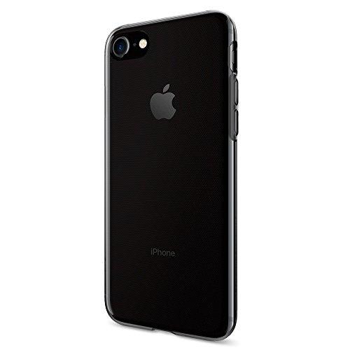 iPhone 7 Hülle, Spigen® [Liquid Crystal] Ultra Dünn [Space Crystal] Bumper-Style Premium-TPU / Perfekte Passform / Durchsichtiges Soft-Case Silikon Schutzhülle für iPhone 7 Case, iPhone 7 Cover - Space Crystal (042CS20846)