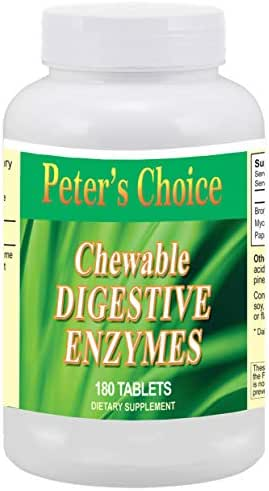 Peter's Choice Chewable Digestive Enzymes Tablets
