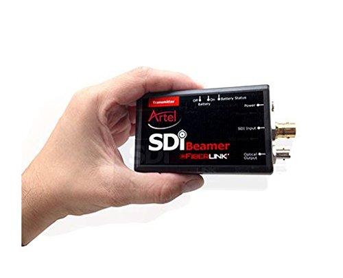 Artel Fiberlink 3112 Internal Battery/DC Powered 3G/HD/SD-SDI over One Fiber - SM and MM - ST Connectors - Transmitter