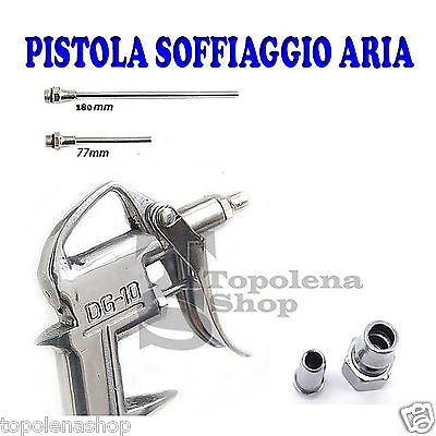 Pistola para compresor aire Aire Completo de Accesorios Becchi