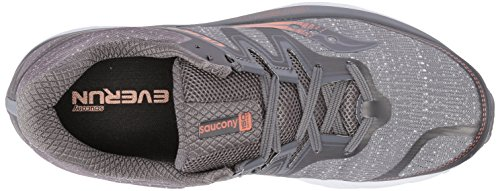 Saucony Men's Guide Iso Competition Running Shoes Grey (Grey/Denim/Copper 30) QsIAb