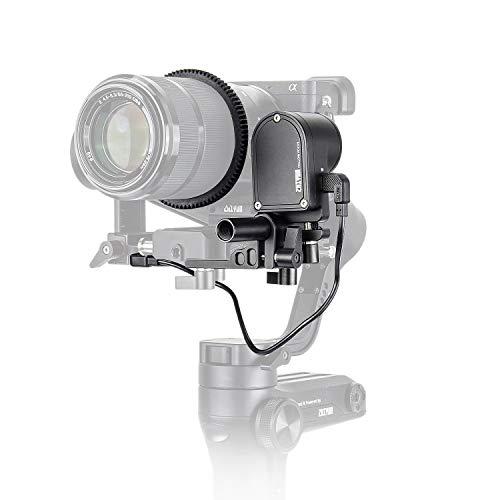 - Zhiyun CMF-04 TransMount Servo Follow Focus/Zoom Controller (Max) for Zhiyun WEEBILL LAB/Crane 3 LAB with EACHSHOT Cleaning Cloth