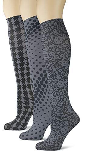 (Knee High Trouser Socks w/Colorful Printed Patterns - Made in USA by Sox Trot (3)