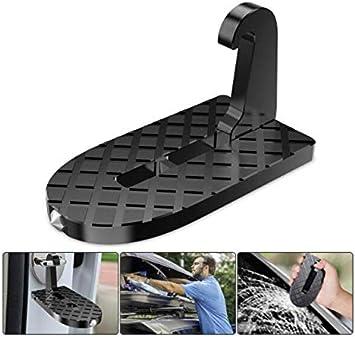 XINZ - Escalera Plegable multifunción para Coche con función de Martillo de Seguridad para emergencias, fácil Acceso al Techo del Coche, Escalera de Puerta para Coche, Jeep, SUV Todoterreno: Amazon.es: Coche y