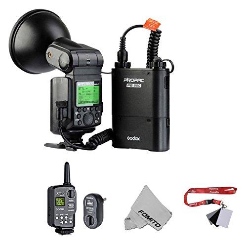 Fomito AD360II-N Powerful & Portable Flash 大光量ポータブルフラッシュ +FT-16トリガー Nikonカメラ対応 黒色の商品画像