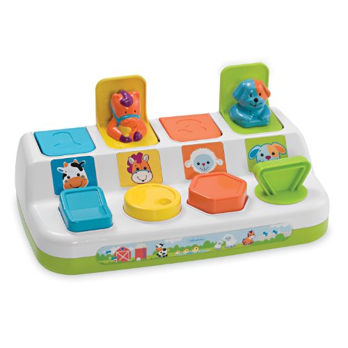 Infantino Bop and Pop Animal Pals Development Toy, Baby & Kids Zone