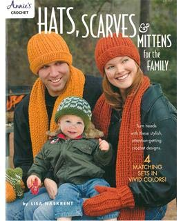 (Annies 871757 Hats Scarves & Mittens Family)