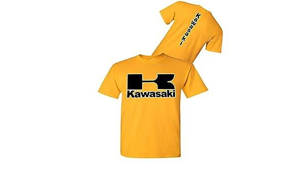 Kawasaki - Camiseta de Moto Dorada – Streetbikes Dirtbikes Ninja ATV – Camisa Kawasaki - Dorado - 3X: Amazon.es: Ropa y accesorios
