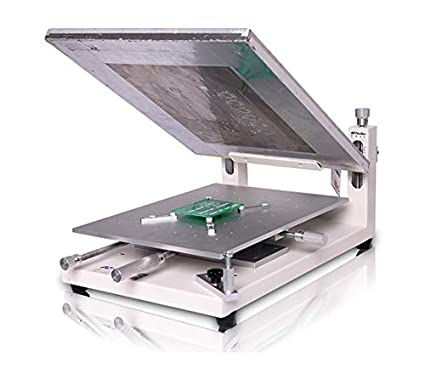 Amazon com: Hanchen PCB Stencil Printer, High Precision Stencil Silk