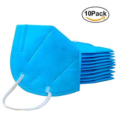 Mouth Mask Anti Pollution Mask Unisex Protection N95 Anti Dust Mask Pack of 10