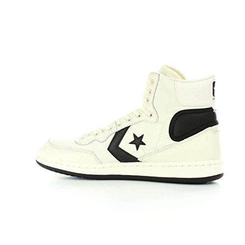Converse Sneakers Uomo Hi, Sport, Colore Bianco Nero, Nuova Collezione Primavera Estate 2018 Bianco
