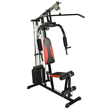 Fitness-station Black Fire banco de pesas staby mehg estática de BB Sport: Amazon.es: Deportes y aire libre