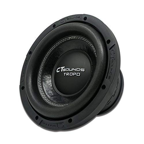CT Sounds Tropo 8 Inch Car Audio Subwoofer - 8 Inch Subwoofer With Built-in Amp